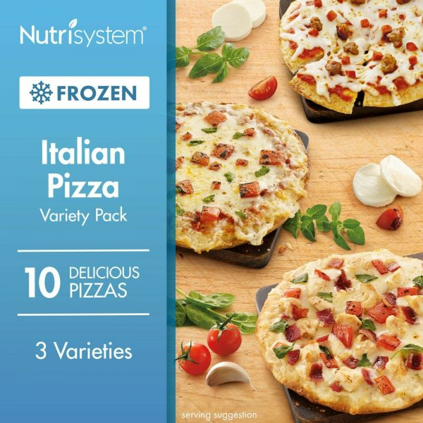 10 COUNT Frozen Italian Pizza Variety Pack Healthy Fitness Diet Weight Loss NEW 10