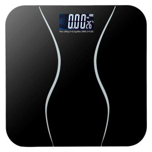 400lb Digital Body Weight Scale Bathroom Fitness Backlit LCD Display + 2 Battery 1