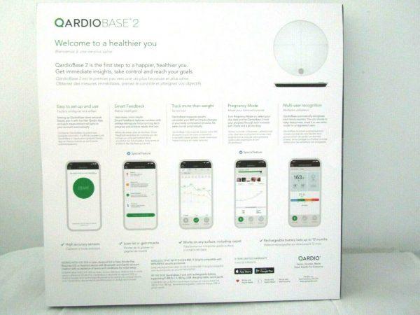 QardioBase2 WiFi Smart Scale and Body Analyzer 2