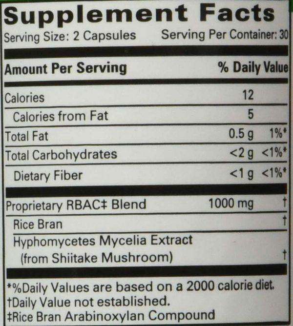 BRM4 500 mg 60 vcaps By Daiwa Health Development  1