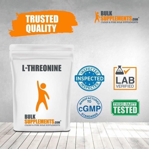 BulkSupplements.com L-Threonine 4