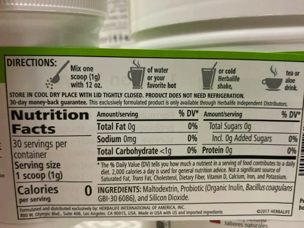 HERBALIFE Digestive Combo, Herbal Aloe, 21Day Balancing, Active Fiber, Probiotic 10