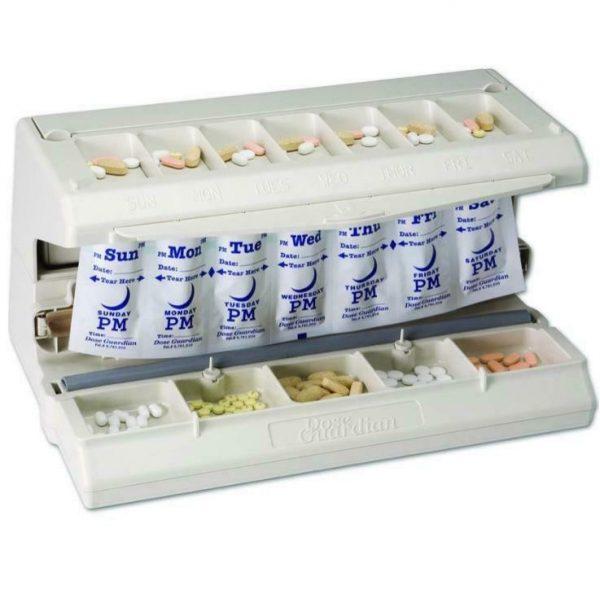Dose Guardian Home Medication Sealing Unit w/ 12 Dosing Strips