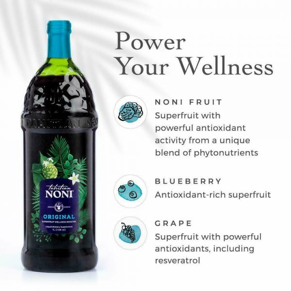 Tahitian Noni Juice - (4) 1 liter bottle   good tell end date 2022 Special Sale  1