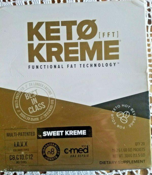 KETO SWEET KREME by Pruvit  Box of 20 FAST SHIPPING! **SALE***