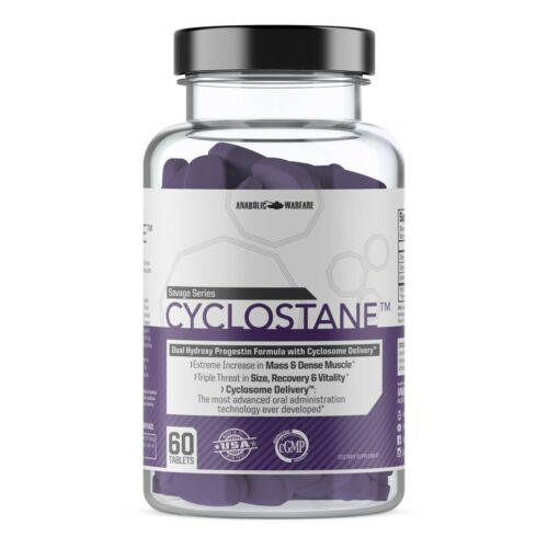 Anabolic Warfare Cyclostane For Increased Muscle Mass Recovery Appetite 60 Tabs