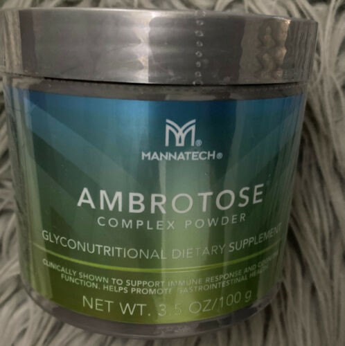 ***Mannatech Ambrotose Complex PowderFreeshipping Exp: 1/22 New And Seal********
