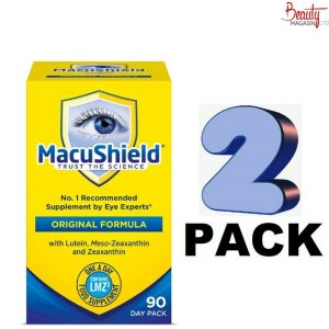 (2 PACK) Macushield With Meso-zeaxanthin For Macular Health 90 Caps - 2 BOX