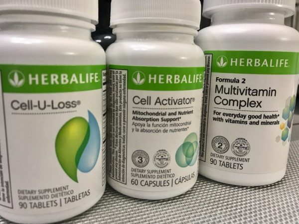 NEW HERBALIFE COMBO  CELL-U-LOSS  - CELL ACTIVATOR  - MULTIVITAMIN COMPLEX 1