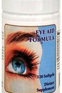Eyes Aid Formula, Vitamin A,Vitamin B-1, Marigold Extract, Zinc, 120 Softgels