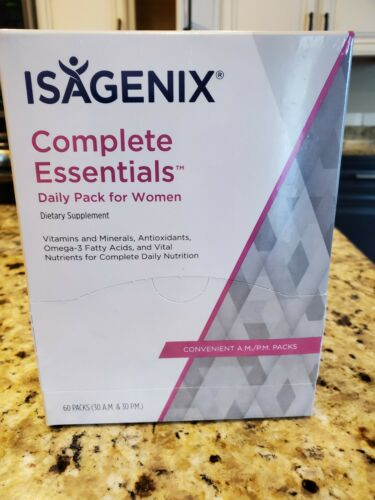 Isagenix Complete Essentials Daily Pack for Women 60 Packs NEW Exp 02/2022 4