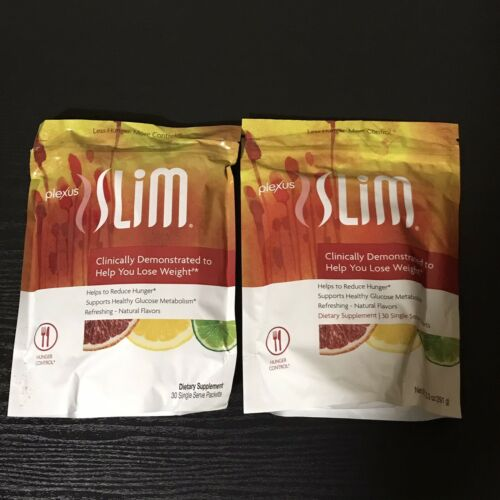 Plexus Slim Pink Drink Hunger Control 2 Bags 60 Day Supply* FAST SHIP!