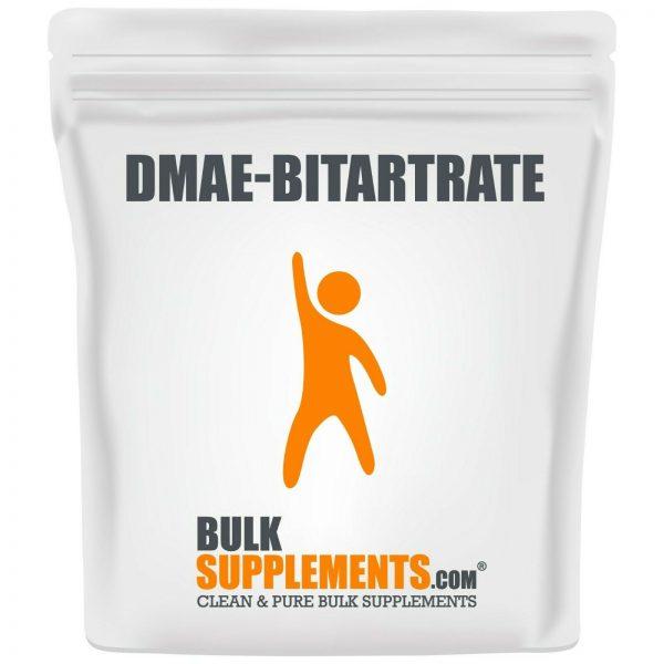 BulkSupplements.com DMAE-Bitartrate Powder - Mental Focus Supplement - ATP