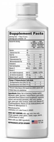 Lifetrients – Speak+D Smooth – Orange Vanilla – 15.2 oz – Pediatrician...  2