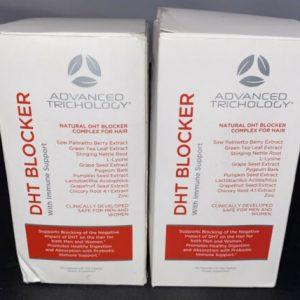 (2-Pack) Advanced Trichology DHT Blocker Immune Support - 240 Capsules - 12/22