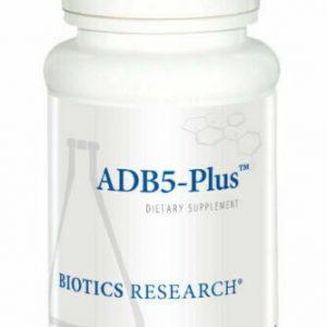 Biotics Research ADB5-Plus 180 Tablets Expiration 08/2022