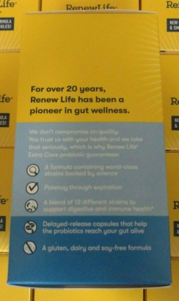 Renew Life Ultimate Flora Extra Care Probiotic 30 Billion Cultures 30 Ct 09/2022 3