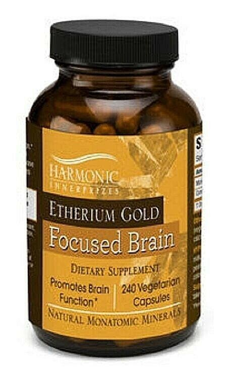 Harmonic Innerprizes Etherium Gold 240 VCaps - FOR FOCUSED BRAIN & SHARPNESS