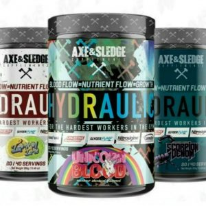 Axe & Sledge HYDRAULIC Stim Free Pre-Workout Pump Focus 20/40SRV Like Big Noise