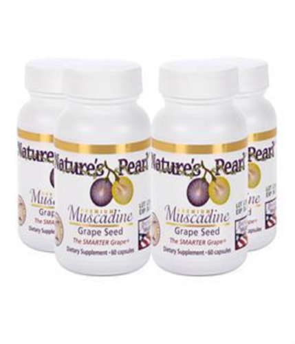 Premium Muscadine Grape Seed 4 Ct by Youngevity Dr. Wallach