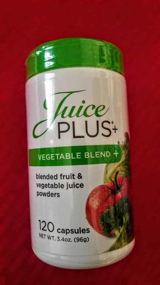 JUICE PLUS+ VEGETABLE BLEND. 2 Bottles = 4 Month Supply. Exp12/2018-12/2021. 4