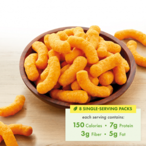 Cheese Puffs - Delicious, Diet Friendly Snacks For Weight Loss, 8 Count 1