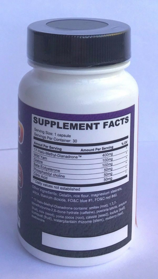 Vyotech 17 HD 30 Caps Muscle Builder Muscle Building Strength Booster 3 Bottles  2