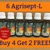 6 Agrisept-L / Agrumax /Buy 4 Get 2 FREE /Exp. 04/24 /Same Maker as Calorad