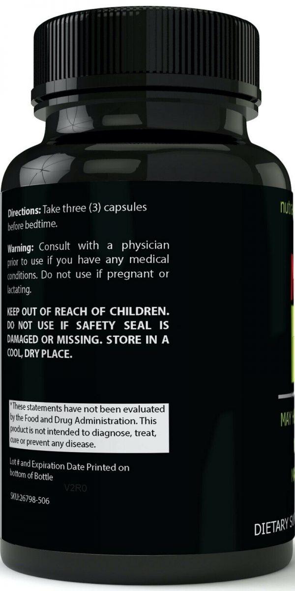 Monster FX7 Male Enhancement 4 Bottle Pack Supplement Advanced Enhancing Pills 3