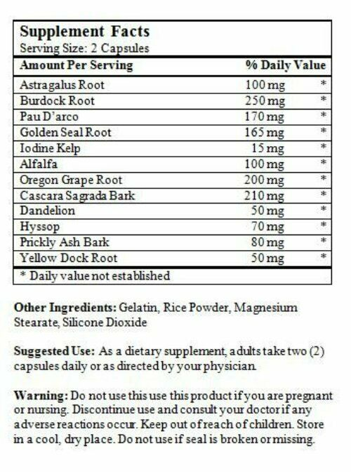 ClearLungs Extra Strength Clear Lung - 200 Vegan Capsules Lung Aid 1