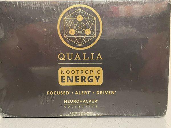 Qualia Nootropic Energy Shot - 20 Pack 1