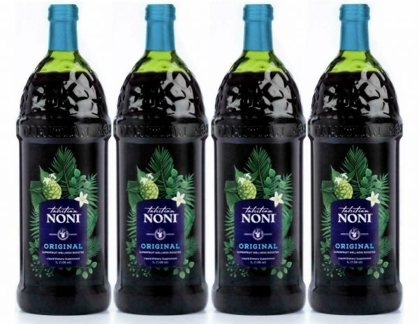 Tahitian Noni Juice - (4) 1 liter bottle   good tell end date 2022 Special Sale