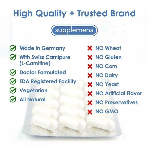 Supplemena Fertilmas Male Fertility Supplement - 2 Month Supply - 2x 60 Capsules 3