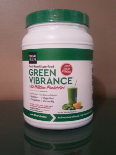 Most Awards: Vibrant Health Green Vibrance Powder, 32.97 oz, Exp: 1+ year