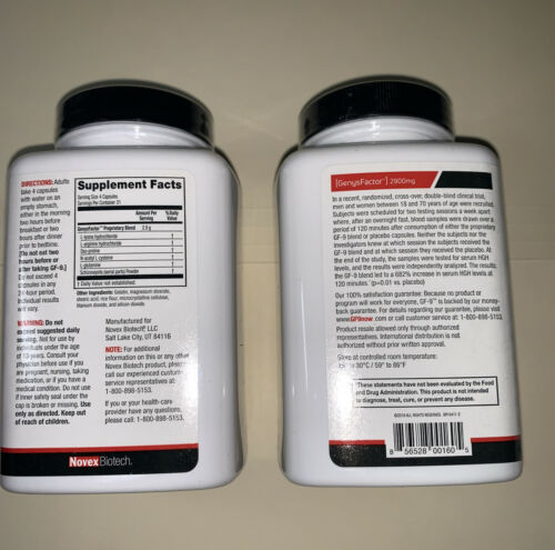 Basic Research GF-9 Dietary Supplement 168 Capsules(2) bottles exp.12/2022 3