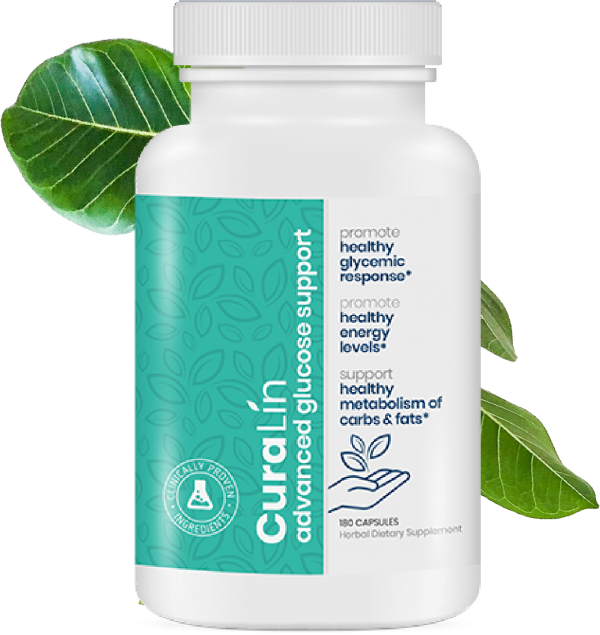 Curalin Advanced Glucose Support  And  Healthy Glycemic 180 Capsules Exp 01/2024