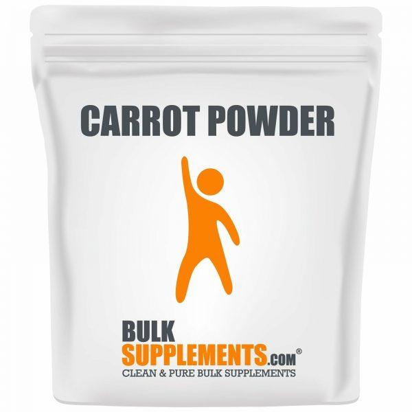BulkSupplements.com Carrot Powder - Powdered Greens Supplement - Food Powders