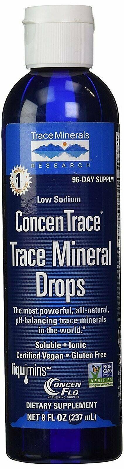 Trace Minerals Research - Concentrace Trace Mineral Drops, 8 fl oz liquid (Pa... 1