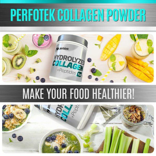 Collagen Powder Premium Peptides Hydrolyzed Anti-Aging Organic Protein 4x 1LB 5