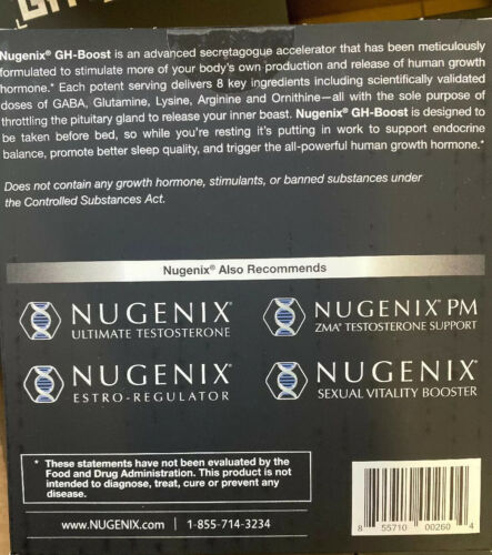 Nugenix GH Boost Tea Berry Blast  30 Pack FREE Expedited Shipping Authentic  2