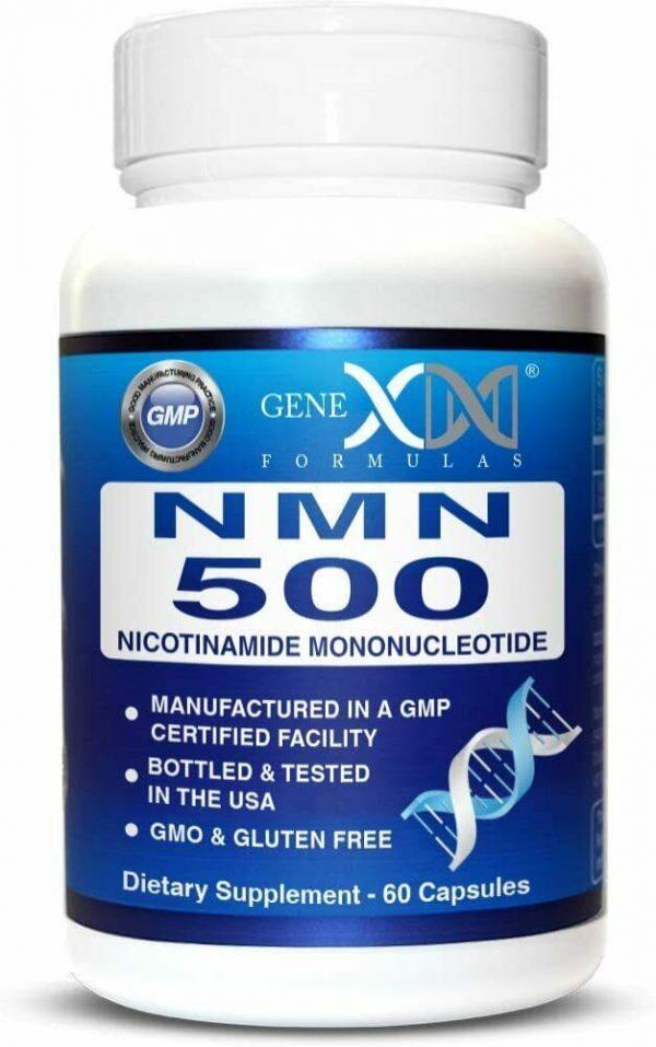 NMN Stabilized Form 500mg Serving Nicotinamide Mononucleotide Direct NAD...