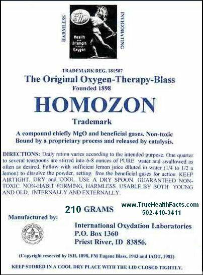 Homozon - The Original -Super Detox with Oxygen-Double Strength, Fresh 230 grams 2