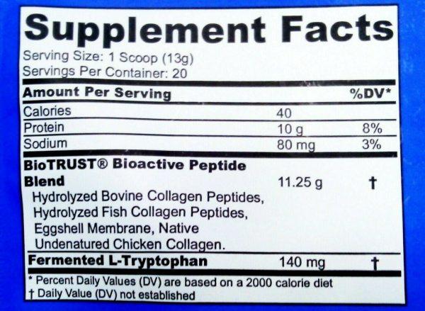 LOT OF 4!~BioTrust Ageless Multi Collagen Chocolate Powder Mix 261g PER BAG 2023 2