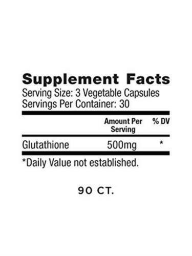 Glutathione Force, Unflavored, 500 mg, 90 Capsules, Master Antioxidant,  5