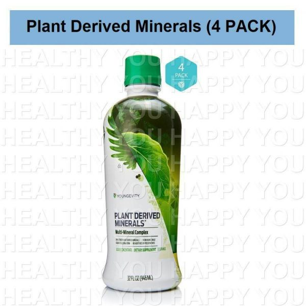Plant Derived Minerals (4 PACK) Youngevity [S]