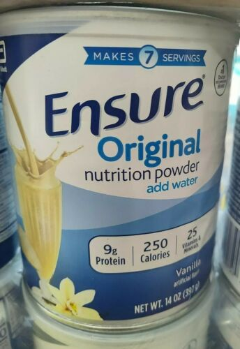 $8 each 12 CANS *Exp 12/22+* Ensure Original 14oz Nutrition Vanilla Powder Supp