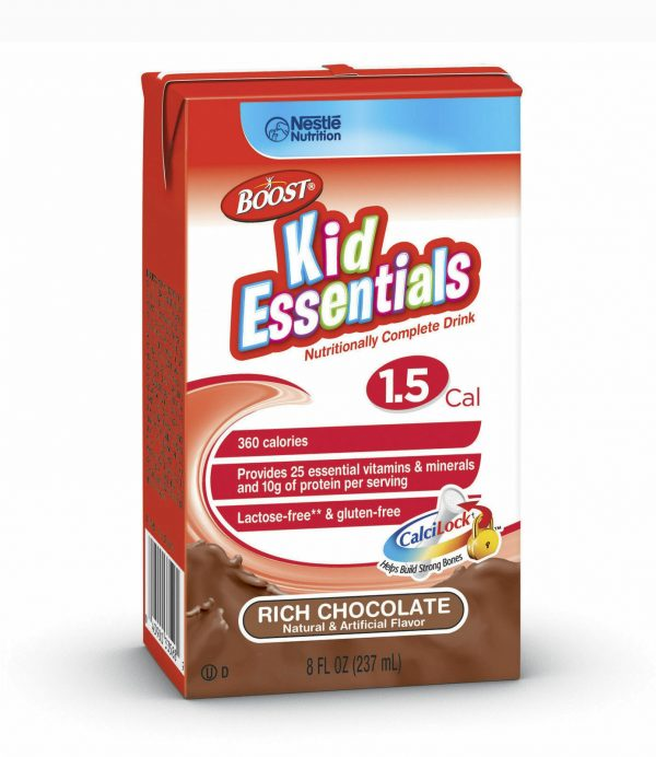 Boost Kid Essentials 1.5 Cal, Chocolate Craze, 8 Ounce, by Nestle - Case of 27 2