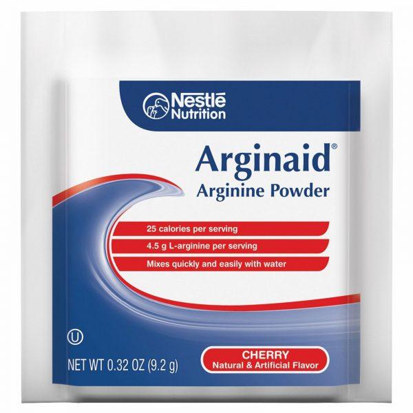 Nestle Arginaid Arginine Powder Cherry 0.32 oz Packet 56 Ct 3