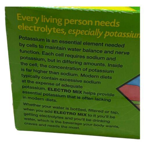 Emergen-C Electro Mix Lemon-Lime 30 Packets 0.14 oz ea Gluten-Free EXP: 08/2021 5