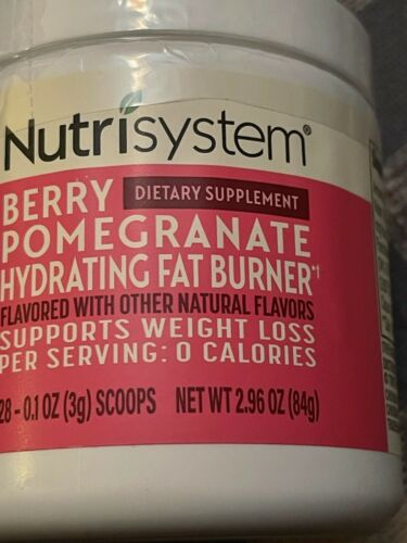 💕 Nutrisystem Berry Pomegranate Hydrating Fat Burner Dietary Supplement 28 Svg 1